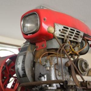ダイキンAK50形5馬力空冷エンジン(多分石油発動機)