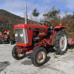 オラオラ顔空冷、ヰセキTB1400とTB2300は農632と農655