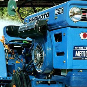 日の本MB-1100は1972年〜73年に誕生!型式認定は農813号