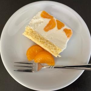 【混ぜるだけ!みかんのアイスチーズケーキ^^】