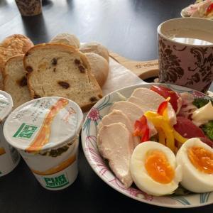 【今日の朝ごはんと昼ごはん・ついでに昨日のダメごはん】