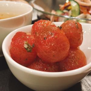 【昨日の晩ごはん☆プチトマト大量消費に!^^】