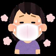 マスクと湿度と気温の関係について考えました。