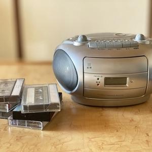 カセットテープレコーダー