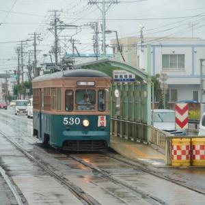 函館市電530と駒場車庫