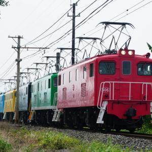 秩父鉄道EL5重連 オリンピック記念列車