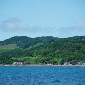 下北半島 脇野沢の風景