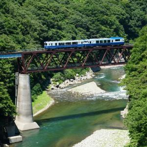 会津鉄道 お座トロ展望列車