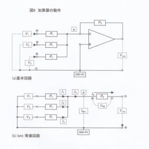 電験三種(オペアンプ)加算器