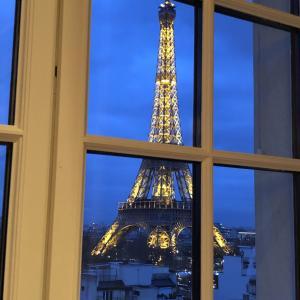 瓶のスプライトが¥1700⁉シャングリ・ラ ホテル パリ滞在記①