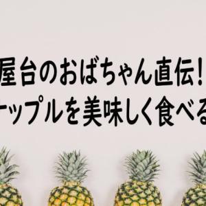 屋台のおばちゃん直伝!台湾パイナップルを美味しく食べるコツ