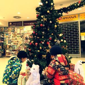 クリスマスムードなのにちょっと寂しかった、チェコのショッピングモール