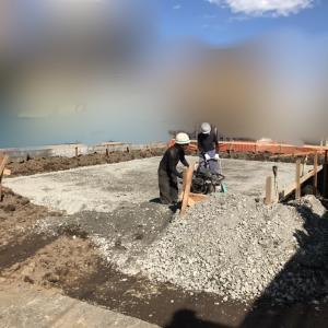 家が建つまでの記録その4「基礎工事」