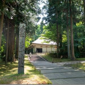 2020年6月:コロナで観光客もまばらな中尊寺へ行ってきた話【近場旅行】
