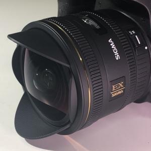 星景写真用にTAMRONの魚眼レンズ 10mm F2.8 EX DCを購入