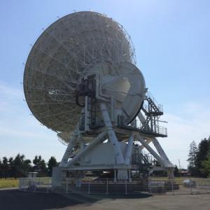 国立天文台水沢VLBI観測所の20m電波望遠鏡