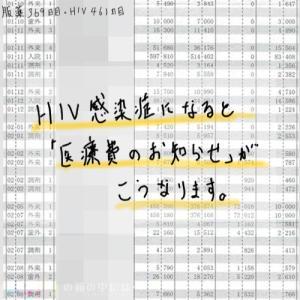【服薬369日目・HIV461日目】HIV感染症になると 「医療費のお知らせ」がこうなります。