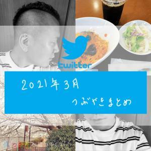 -twitter- 2021年3月のつぶやきまとめ
