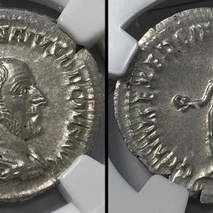 古代ローマ アントニニアヌス貨 トラヤヌス・デキウス