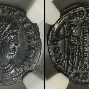 古代ローマ ヌムス貨 コンスタンス1世