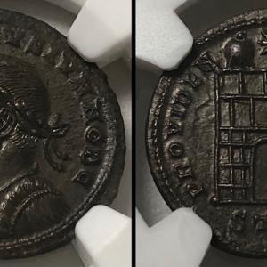 古代ローマ ヌムス貨 コンスタンティヌス2世