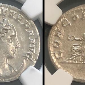 古代ローマ アントニニアヌス オタキリア・セウェラ