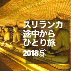 ⑤スリランカ途中からひとり旅2018