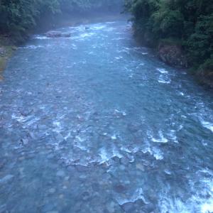 河川状況  広瀬橋周辺