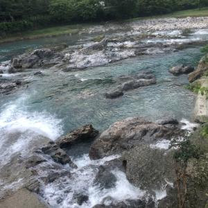 河川情報 広瀬堰堤〜広瀬橋