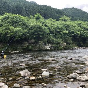釣果報告…大滝確変中