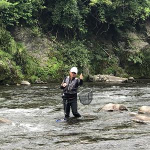 釣果報告…大滝まだ釣れます