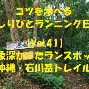 おすすめランニングコース『沖縄・石川岳』!!アドベンチャー満載のジャングルコース!!