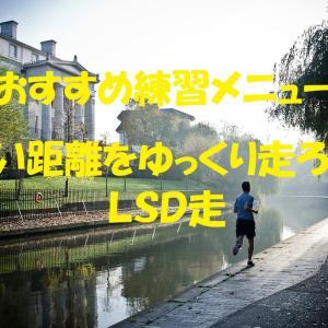 距離練の1メニュー『LSD(ロング・スロー・ディスタンス)』がおすすめ!