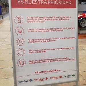 スペインでコロナ非常事態宣言が発令されてから<外出規制>