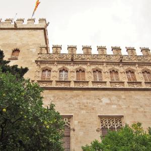 バレンシア唯一の世界遺産:絹で栄えた黄金時代の象徴、La Lonja de la Seda