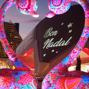 スペイン・バレンシアのクリスマス・イルミネーション