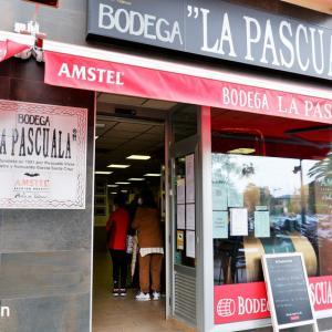 巨大馬肉サンドで有名なバレンシアの老舗:La Pascuala