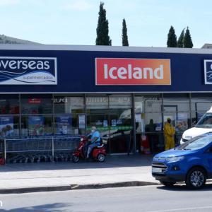 スペインにあるイギリスのスーパー、ICELAND/OVERSEASへ!