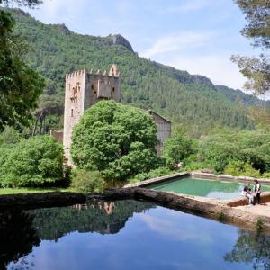 フォトジェニックなサンタマリア修道院のあるParque La Murtaへハイキング!