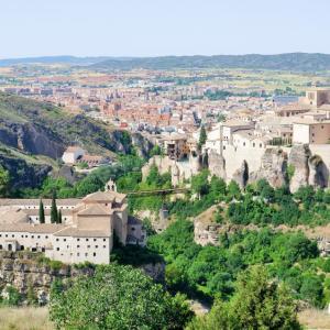 世界遺産の空中都市スペイン・クエンカでトレッキング①:「宙づりの家」やサンパブロ修道院を望む絶景