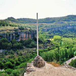 世界遺産の空中都市スペイン・クエンカでトレッキング②:フカール川の渓谷で自然を満喫