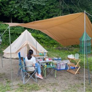 夏のキャンプ用品の収納はどうすれば良い?【整理収納】