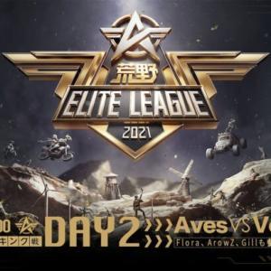 7月25日18時開幕 – 『荒野ELITE LEAGUE』ランキング戦DAY2 #KEL