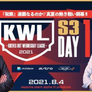【荒野行動】真KWL 8月度 DAY1【真夏の熱き戦い開幕!】実況:Bocky&柴田