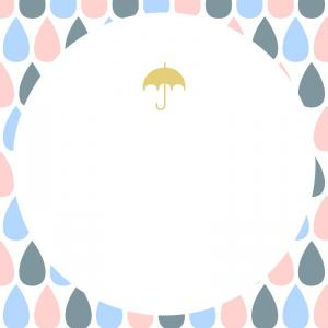 雨の日でもごきげんに♡
