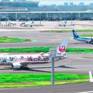 日常「羽田第一ターミナル展望デッキで撮影!・東京一人遊び⑥」