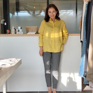 Kano's Coordinate@リネンシャツで夏を楽しむ
