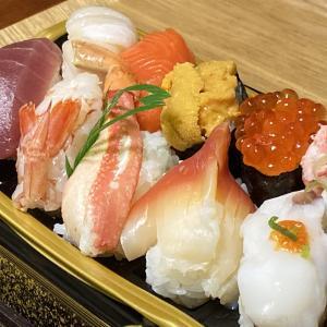 北海道フェアーで、お寿司