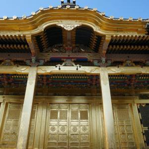 上野東照宮 「金色殿」と強運の「御狸様」に会いに