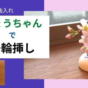 ひょうちゃん活用法:崎陽軒シュウマイの醤油入れを一輪挿しにしていろんなお花を飾ってみた